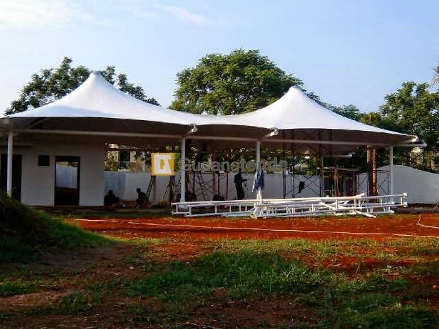 project tenda membrane di PIK
