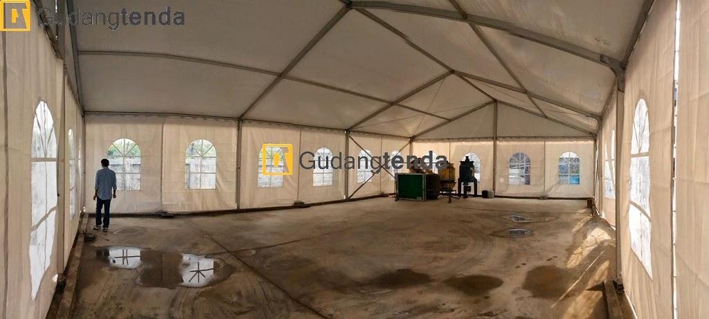 Penggunaan tenda roder sebagai gudang semi permanen, jual tenda roder, jual tenda gudang
