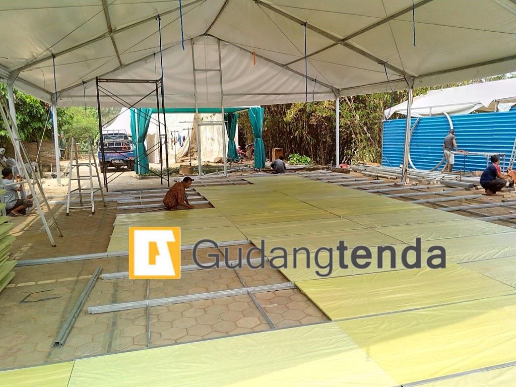 Tenda Roder dengan flooring, sedia tenda roder dengan flooring