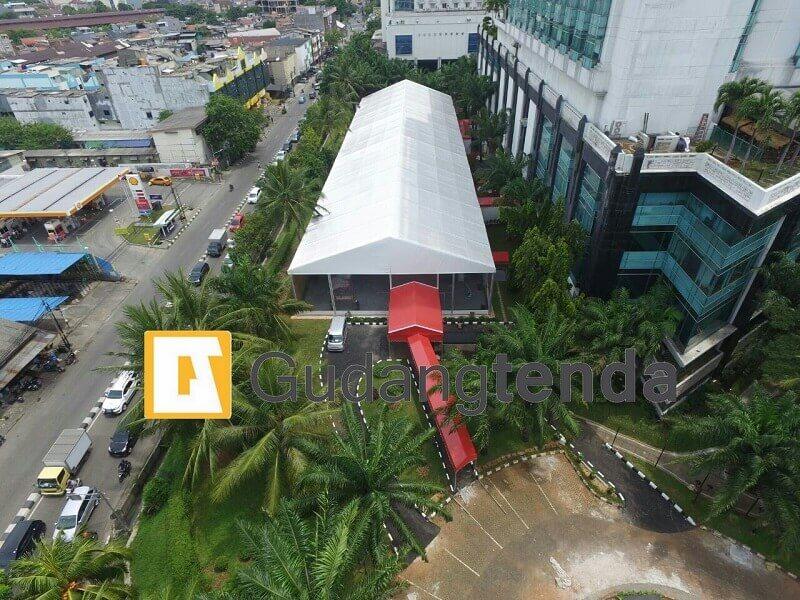 Project tenda roder portable bersama Media Hotel Ancol